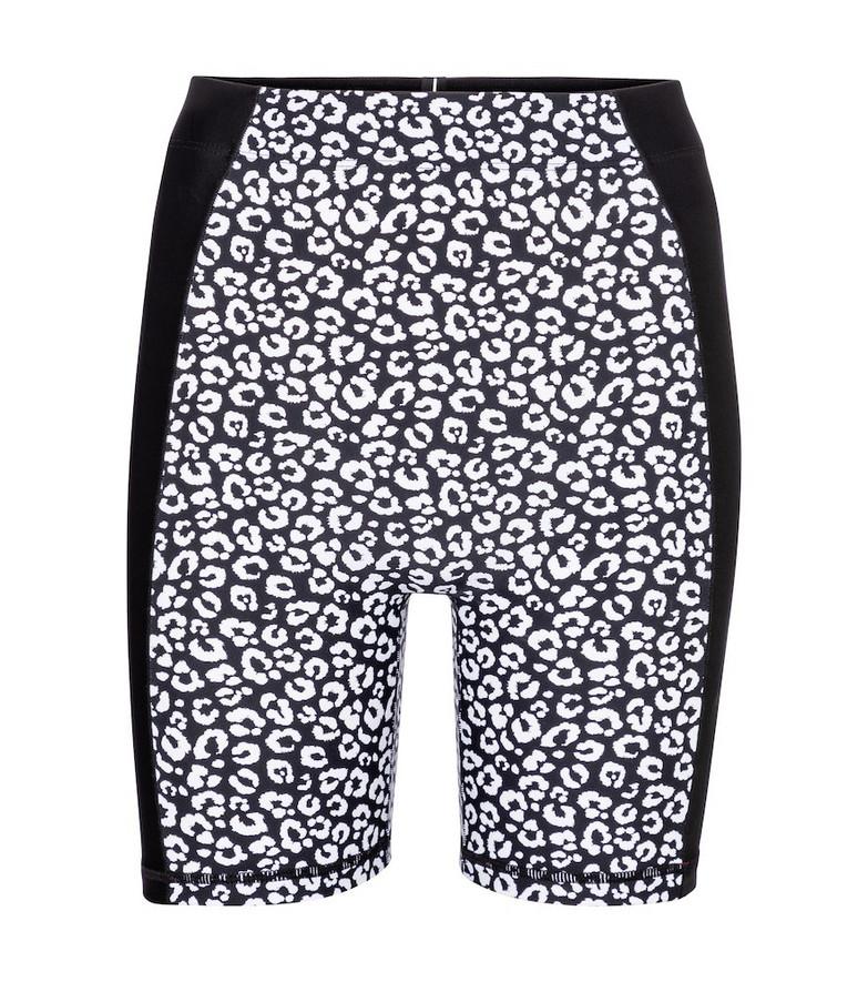Adam Selman Sport Contour high-rise shorts in black