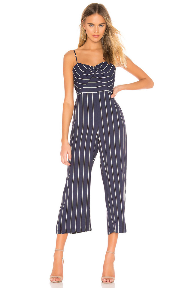 88e2cda8a6df superdown Adelia Halter Jumpsuit in blue - Wheretoget