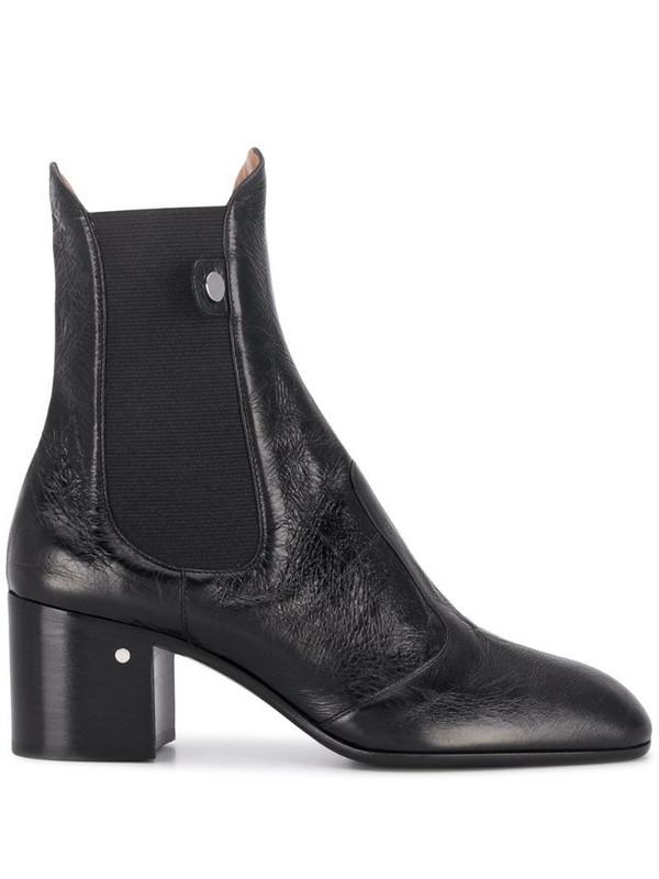 Laurence Dacade low heel ankle boots in black