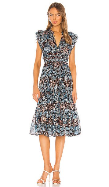 Ulla Johnson Renata Dress in Blue