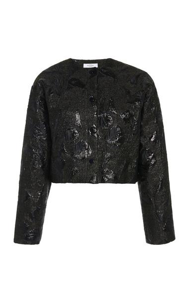 Roseanna Name Jacquard Jacket in black