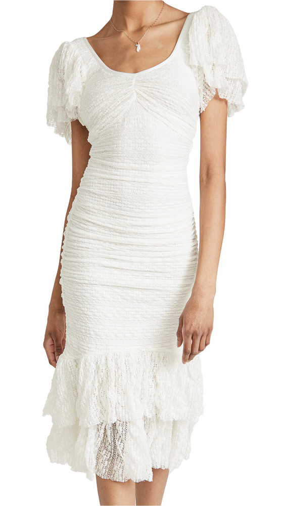 Cinq a Sept Nora Dress in ivory