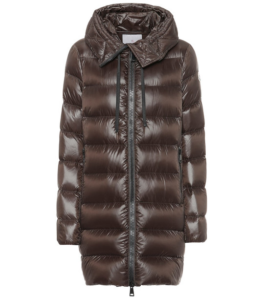 Moncler Suyen down coat in brown