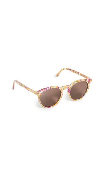 Illesteva Sterling Garden Sunglasses in brown