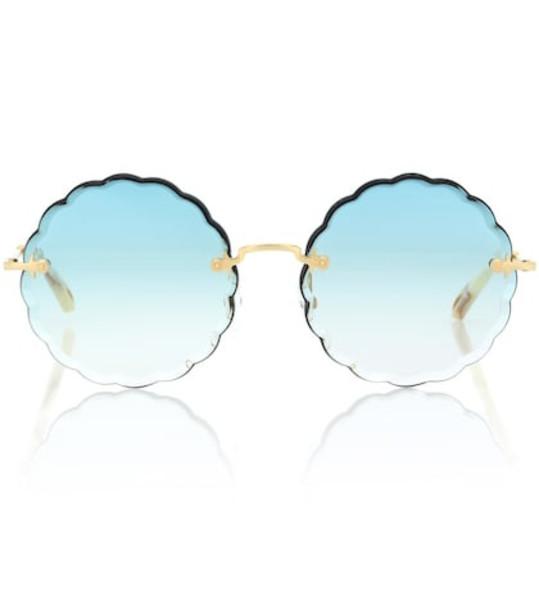 Chloé Rosie sunglasses in blue