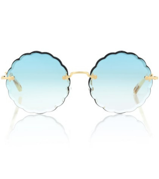 Chloé Rosie sunglasses in blue