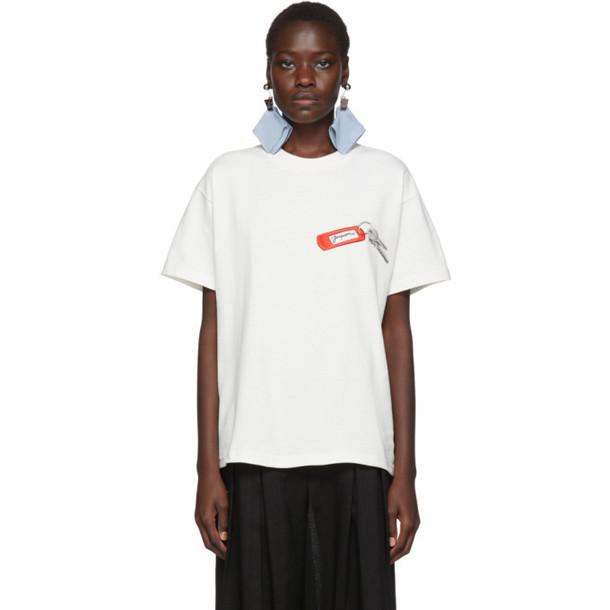 Jacquemus White Le T-Shirt Collectionneuse T-Shirt