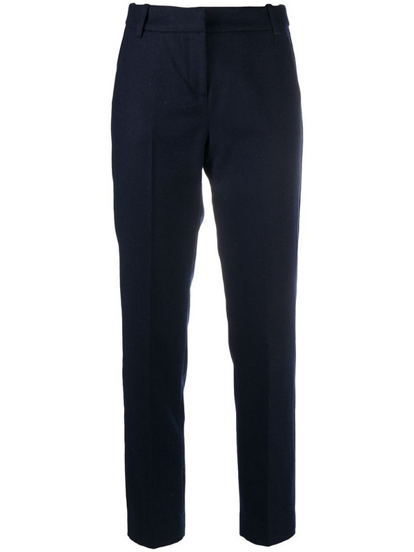 Ermanno Ermanno straight-leg trousers in blue