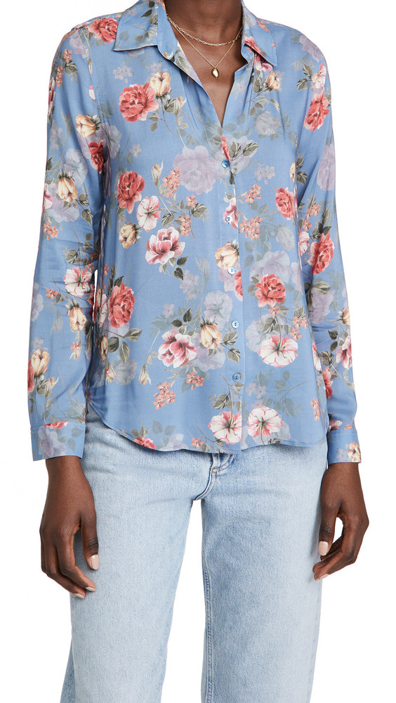 L'AGENCE Holly Blouse in rose