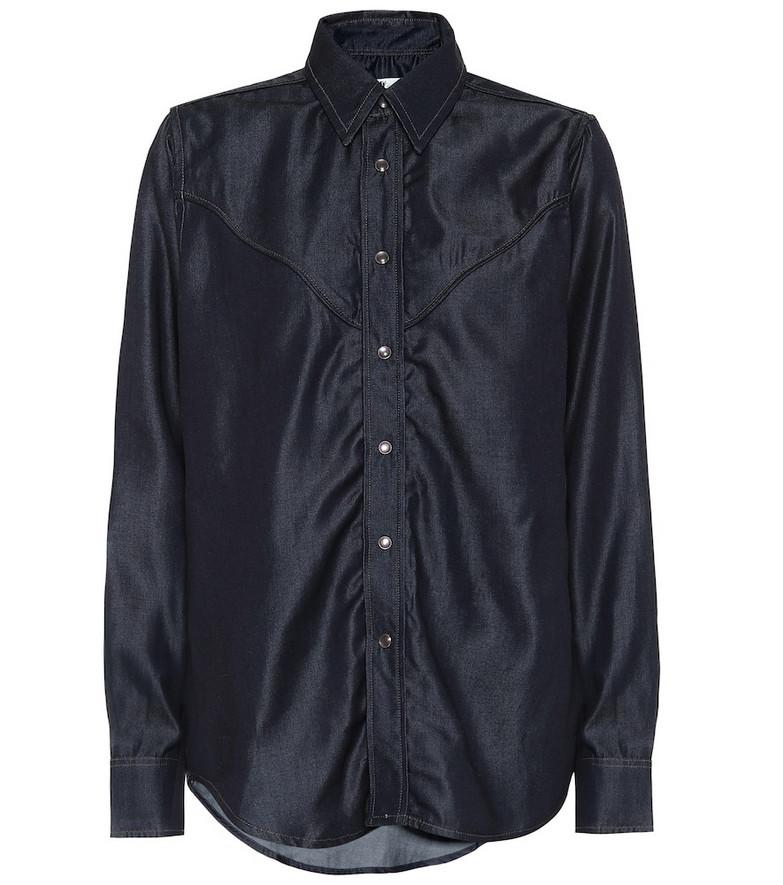 Eytys Dallas shirt in blue