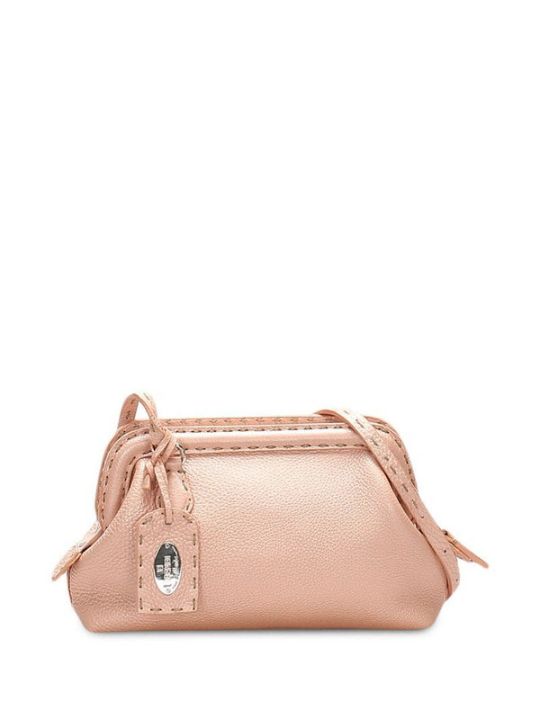 Fendi Pre-Owned Selleria clutch bag in pink