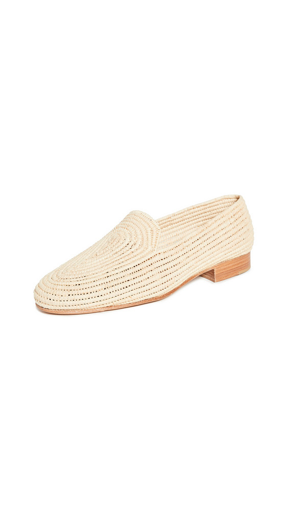 Carrie Forbes Atlas Loafers in natural