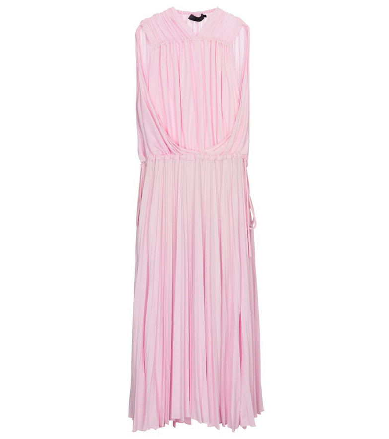 Proenza Schouler Pleated maxi dress in pink