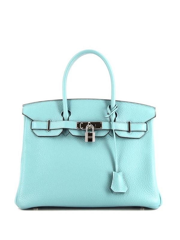 Hermès pre-owned Birkin 30 bag in blue