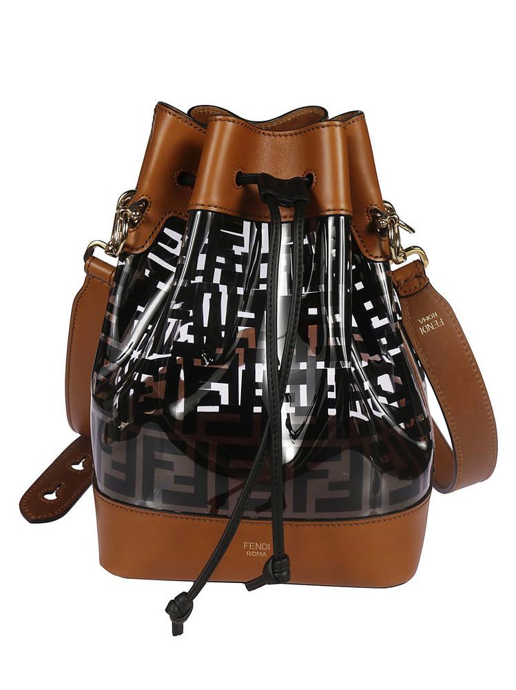 Fendi Mon Tresor Bucket Bag in black