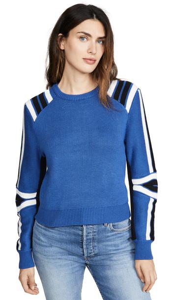 Rebecca Minkoff Janica Sweater in blue