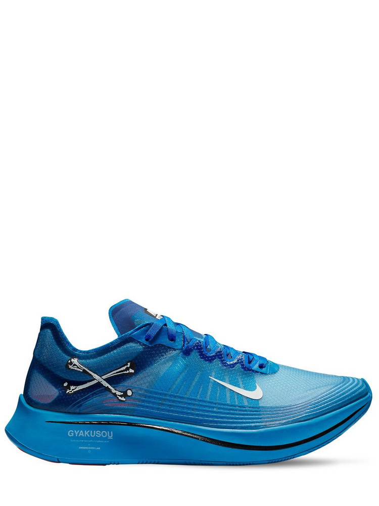 NIKE GYAKUSOU UNDERCOVER LAB Zoom Fly X Undercover Gyakusou Sneakers in blue
