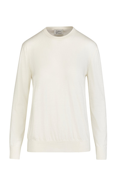 Giuliva Heritage Collection Artemide Cashmere Sweater Size: XS in white