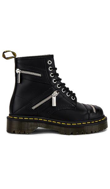 Dr. Martens 1460 Bex Zip Smooth Boot in Black
