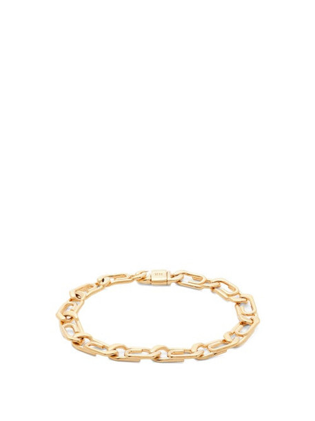 Hillier Bartley - Paperclip Gold Plated Bracelet - Womens - Gold