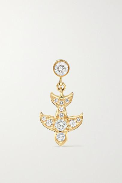 Sophie Bille Brahe - Matisse 14-karat Gold Diamond Earring