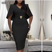 dress,black cape dress,cape outfit