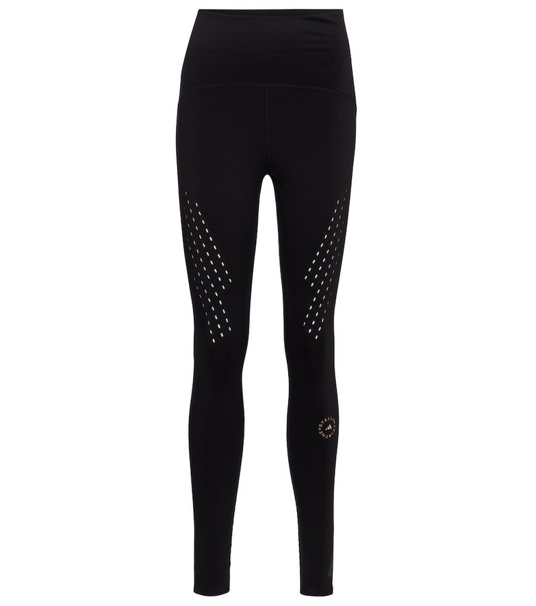 Adidas by Stella McCartney TruePurpose high-rise leggings in black