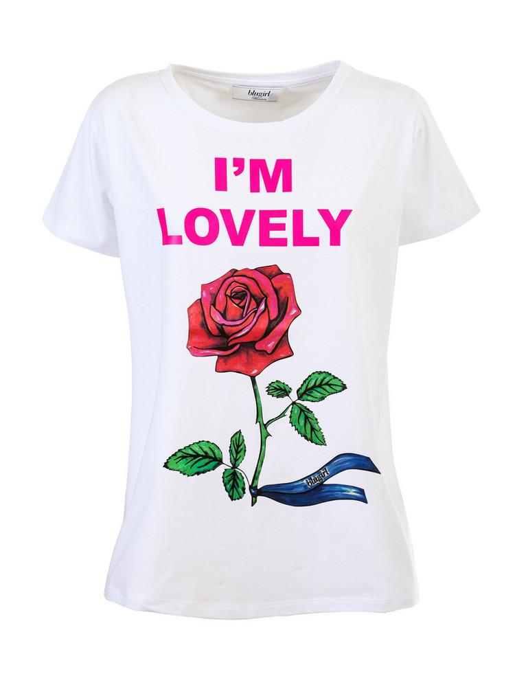 Blugirl t-shirt in bianco