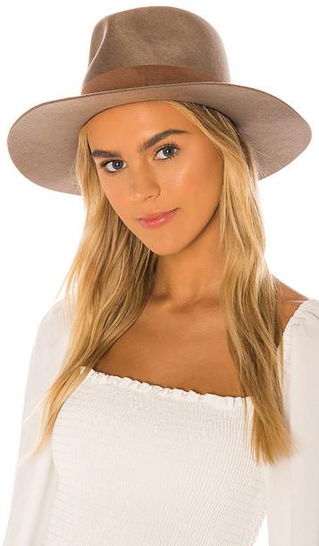 Janessa Leone Alara Hat in Brown