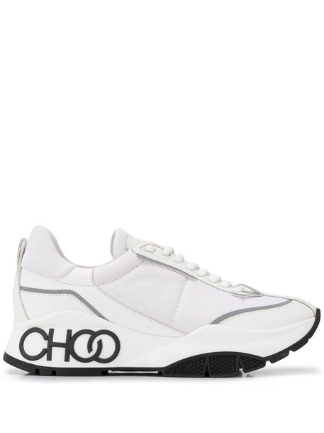 Jimmy Choo Neoprene Sneaker in white