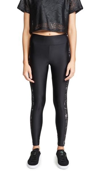 KORAL ACTIVEWEAR Dynamic Duo Energy Leggings in black