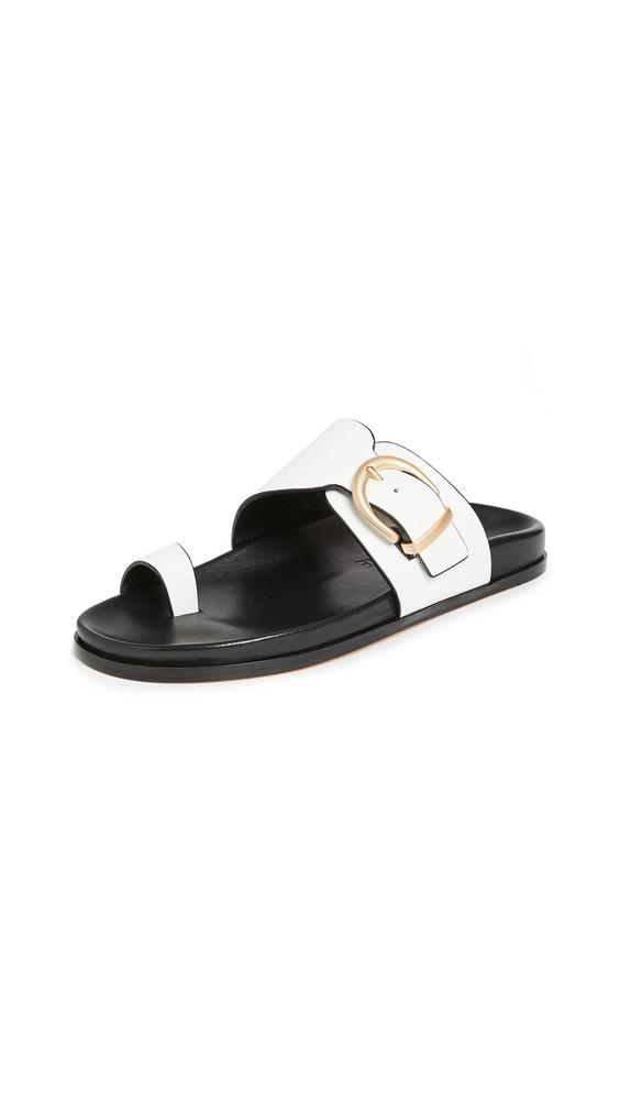 Marion Parke Cyrus Slides in white