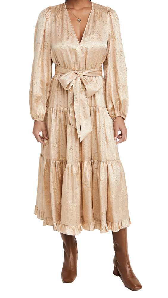 Ulla Johnson Helena Dress in sand