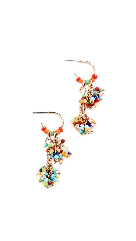 Roxanne Assoulin Sprinkle Set of Beaded Earrings in multi