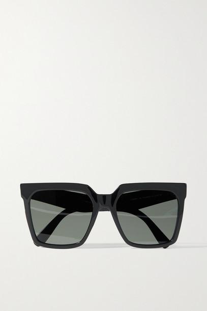 CELINE EYEWEAR - Oversized Square-frame Acetate Sunglasses - Black