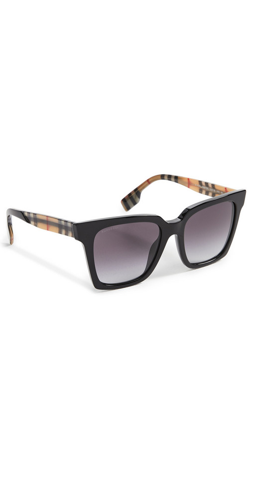 Burberry Maple Sunglasses in black