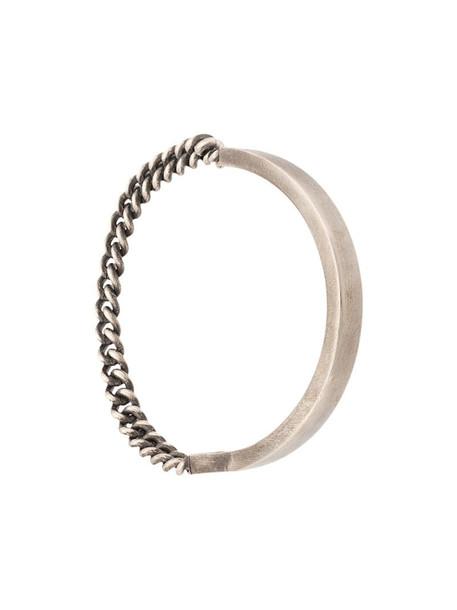 M. Cohen The Catena bracelet in silver