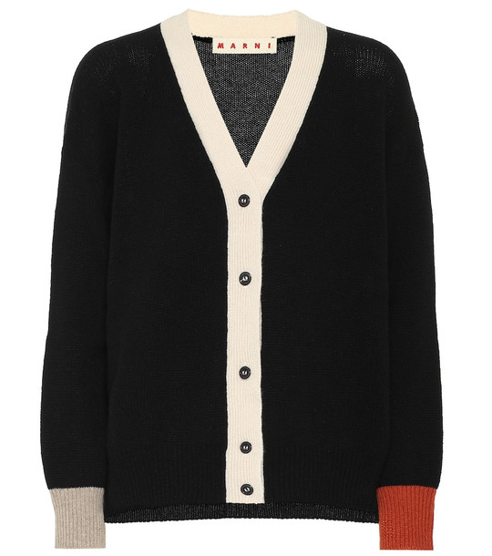 Marni Cashmere cardigan in black