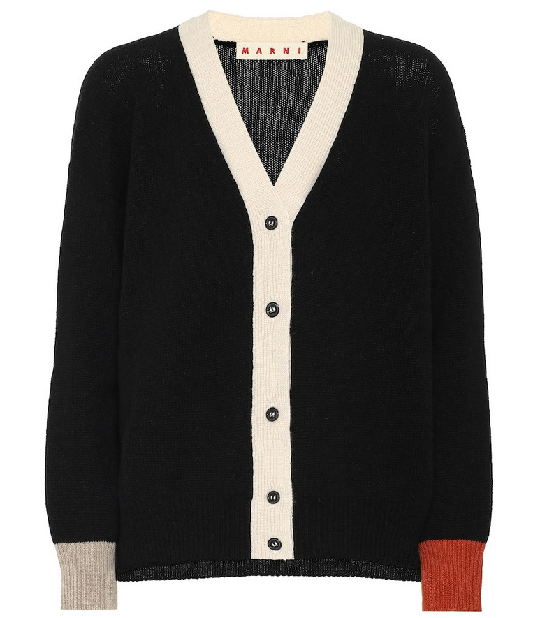 Marni Cashmere cardigan in black