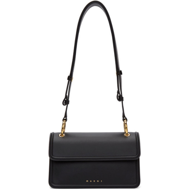 Marni Black Beat Bag