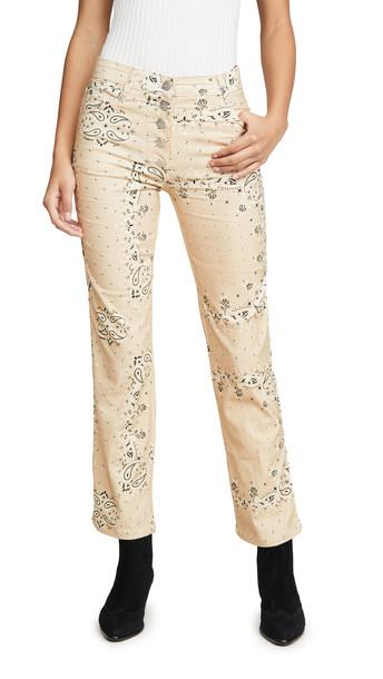 Miaou Junior Jeans in tan