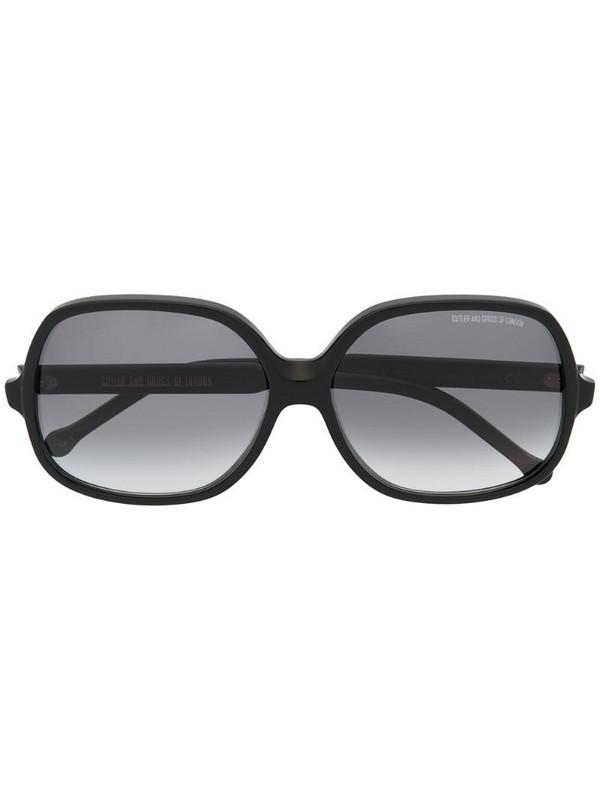 Cutler & Gross 0811 square-frame sunglasses in black