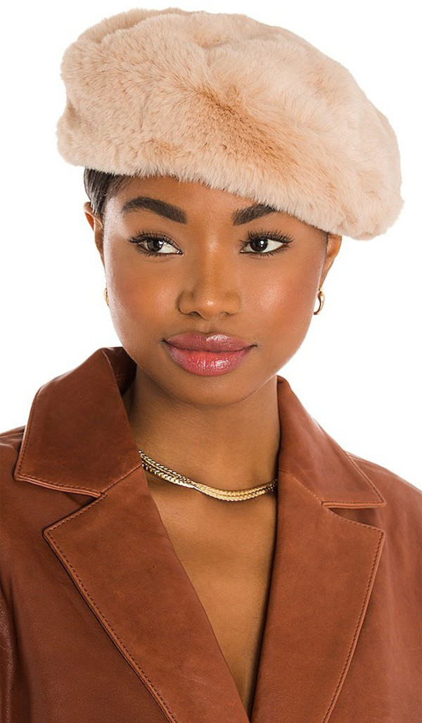 Eugenia Kim Mishka Hat in Beige in ecru