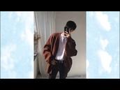 jacket,brown,oversized,menswear