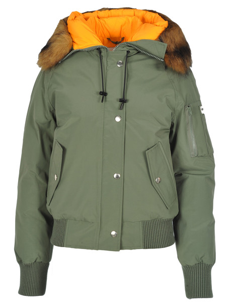 Kenzo Padded Bomber Jacket in green