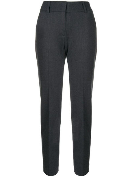 Piazza Sempione tapered trousers in grey