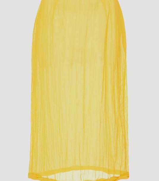 Rejina Pyo Skirts Women - Dani Skirt Yellow 100% Textile. Dry clean. UK - 10