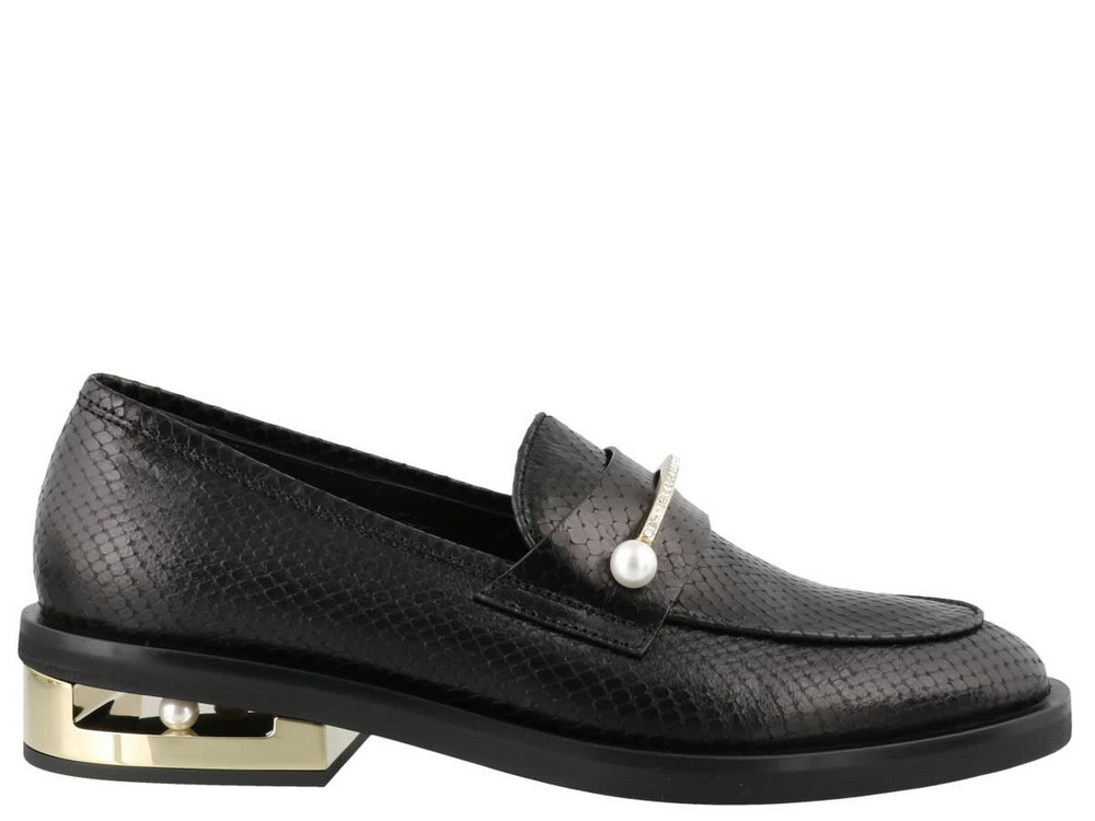 Coliac Abby Loafers in black