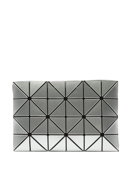 Bao Bao Issey Miyake - Lucent Pvc Pouch - Womens - Silver