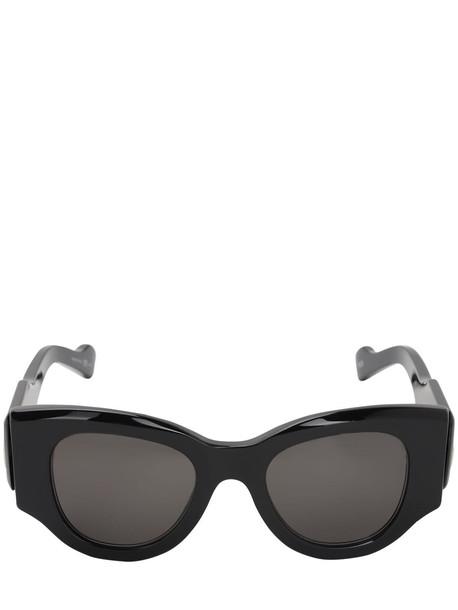 BALENCIAGA Paris Round Sunglasses in black